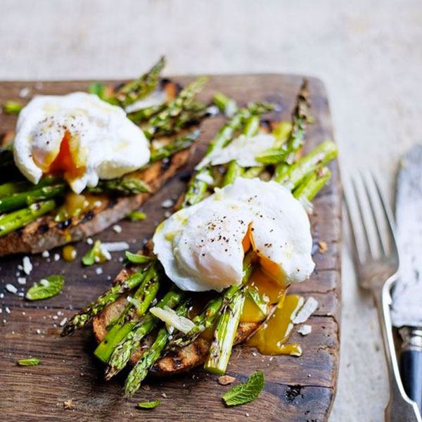 poached eggs image for restaurant business